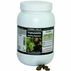 Herbal Hills Ayurvedic Digestive Supplement - Triphalahills 700 Tablet Value Pack, Packaging Type: Bottle