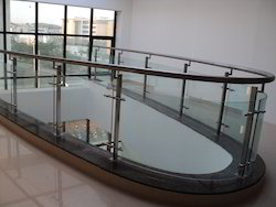 Curved Design Modular Hand Railing