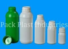 HDPE Emida Agro Bottles for Pesticides