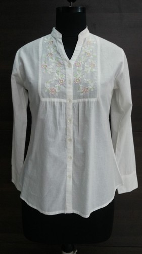 Voile Embroidery Shirt