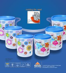 Plastic Household Containers