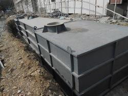 Underground FRP Water Tank