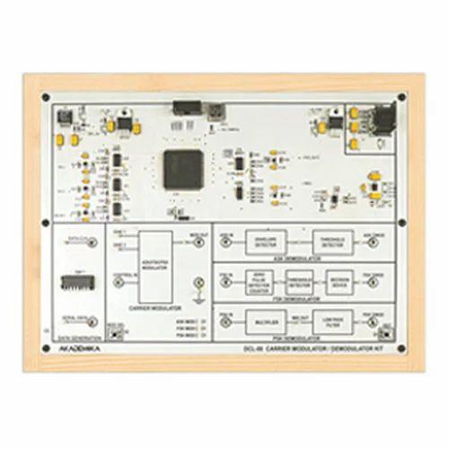 ASK-PSK-FSK Modulation And Demodulation Kit - Akademika LAB