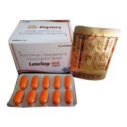 Aceclofenac Paracetamol and Chloraxazone Tablet