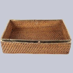 Rectangular Handicraft Basket