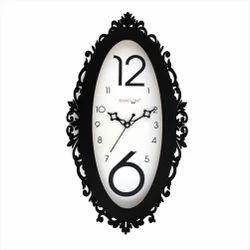 Wooden Oval Designer Clock