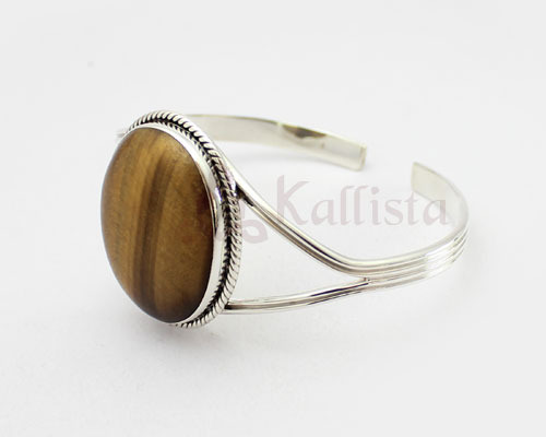 gem stone cuff collection tiger eye kallista designs jaipur id