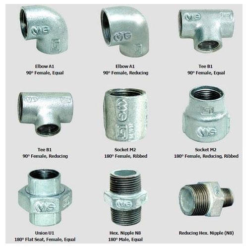 Mg Gi Fitting View Specifications Details Of Gi Pipe Fittings By