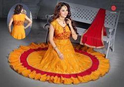 Designer Cotton Punjabi Dress