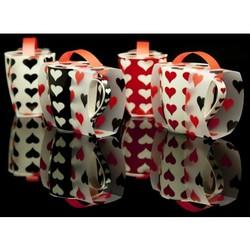 Hearts Mug Covered In A Fabulous Matching Sleeve