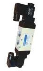 3 Positions / 5 Ports Solenoid Valve