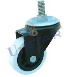 Single Wheel Puff Caster