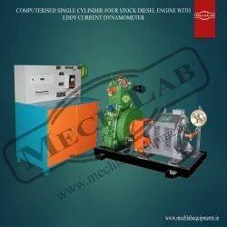 Four Stock Diesel Engine Test