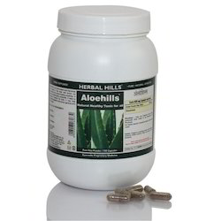 Premium Quality Aloehills - Aloevera 700 Herbal Capsules for Clinical