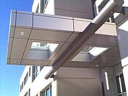 Canopy in Aluminum Composite Panel