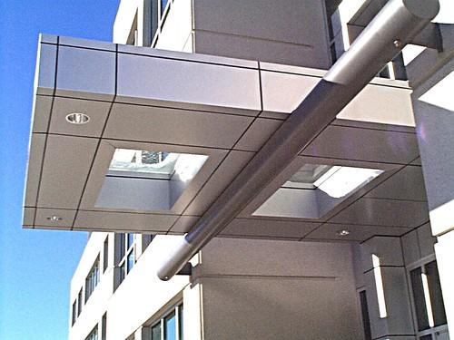 Canopy In Aluminum Composite Panel In Bhandup West Mumbai Rachana Buildart Private Limited