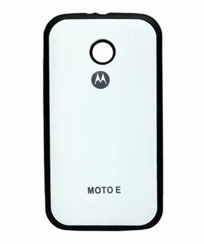 wholesale dealer 2da40 e2578 Motorola Back Cover Cases Moto E Blue