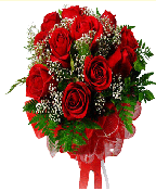 Bunch Of 12 Red Roses Or Mixed Roses