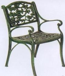 Cast Iron  Arm Chair