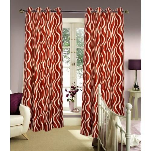 designer curtains beautiful gold touch designer curtain with laces manufacturer from panipat - Rust Color Curtains