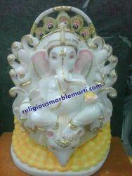 God Marble Idols Ganesh Ji