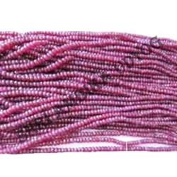 African Ruby Beads Natural