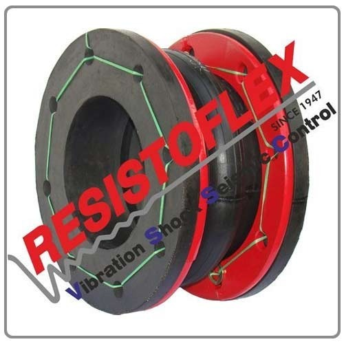 Rubber Joints with Fixed Flanges Single Arch
