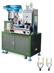 Automatic Stripping and 2 Pin Insert Crimping Machine