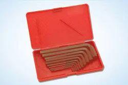Taparia Allen Keys Set(mm Sizes) Brown Finish Box Packing