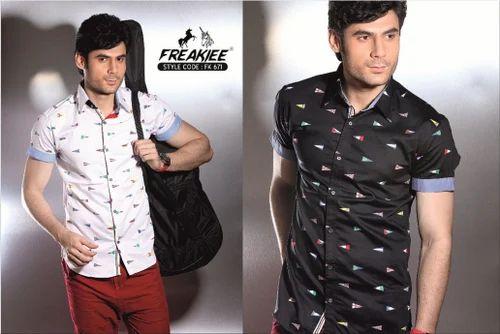 Casual Designer Printed Shirts | Freakiee | Manufacturer in Mumbai ...