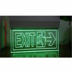 Led Exit Lights Laser Type Exit Light Manufacturer From