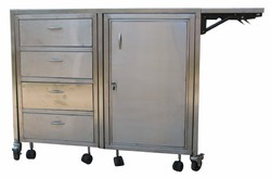 Stainless Steel Cabinet Trolley