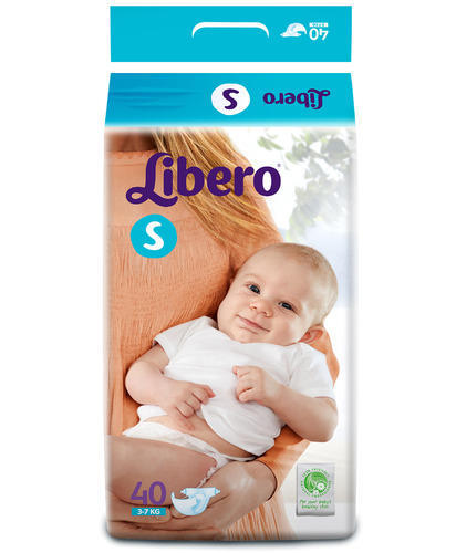 Image result for Libero Diapers - Small, 40 Pieces Pack