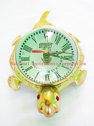Tortoise Shape Antique Clock