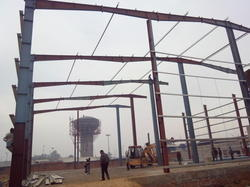 Steel Work Fabrication Shed Services