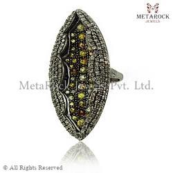 Marquise Shape Design Ring