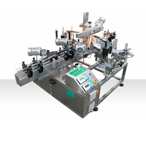 Auto Double Side Vertical Labeling Machine