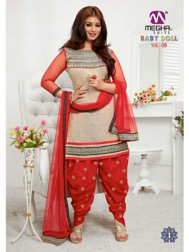 Traditional Punjabi Phulkari Suits