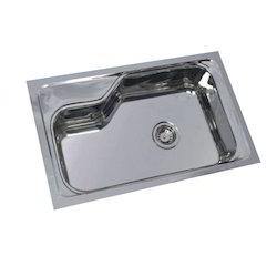 SS Single Bowl Kitchen Designer Sink