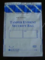 HHV Tamper Evident Security Bag., Size/Dimension: Custom Made