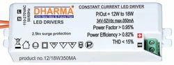 LED Driver 12-18w / 43-52v/350ma