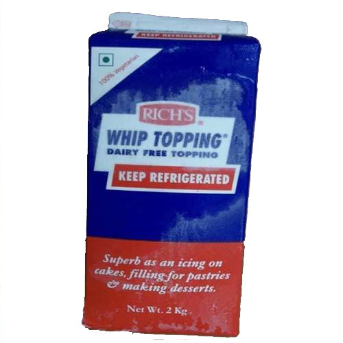 Rich Whip Topping Cream At Rs 190 Litre S Whipped