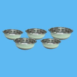 Silver Mixing Bowl Set without Lid