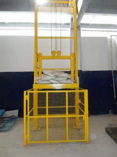 Goods Lift In Karnataka Fixed Stacker Goods Lift