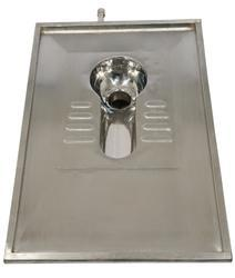 Open Front Ivory Stainless Steel Lavatory Inlay, Size/Dimension: Standard, for Bathroom Fitting