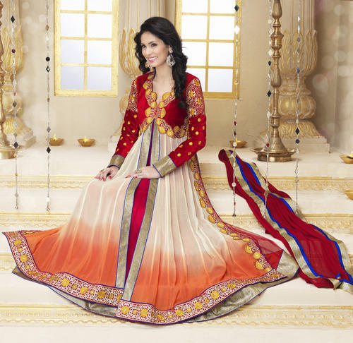 1a0b316ac16 Embroidered Anarkali Suit at Rs 1499  piece ...