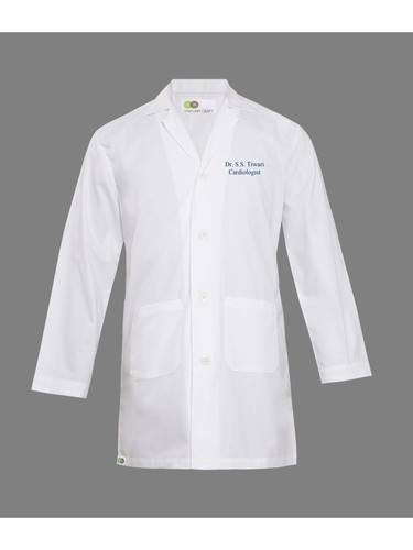 Embroidered Doctor Coat