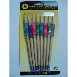 Color Grip Pencil Eraser