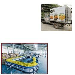 Frozen Food Refrigerated Vans For Food Industry