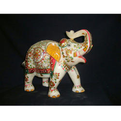 Decorative Elephant In Stone